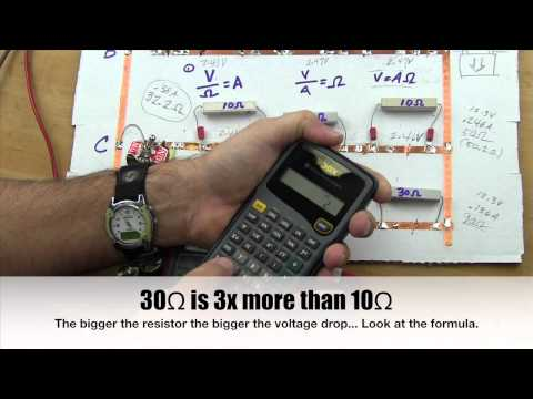 Teaching Ohm's Law To Techs Part 4B  - Parallel Math
