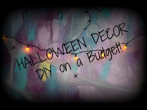 Halloween Decorating on a Budget!