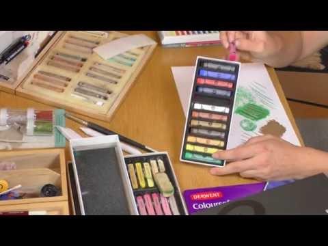 Pastellkreide Vergleich und Test [Teil 1]: Pastellkreide Arten und Vor- und Nachteile