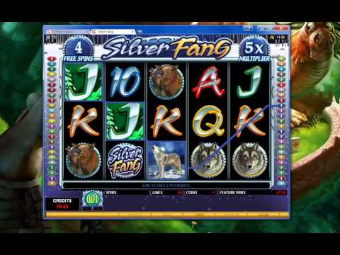 32Red's Silver Fang game showcase - online slot game freespins