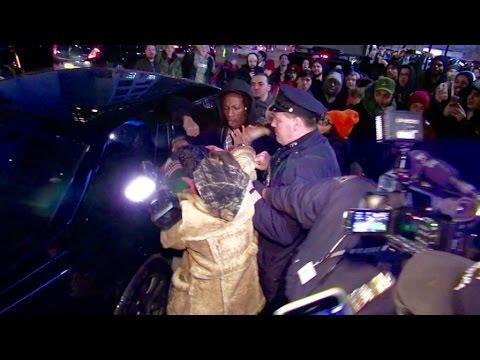 Video: Rapper Joey Badass fights a Cameraman