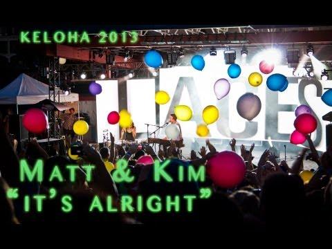 Matt & Kim - 2013 Keloha Festival