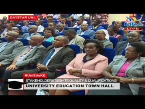 #UniEduKE: University education stakeholders debate quality & qualifications