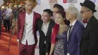 Video YouTube FanFest Singapore Red Carpet 2015 MP3, 3GP, MP4, WEBM, AVI, FLV April 2018