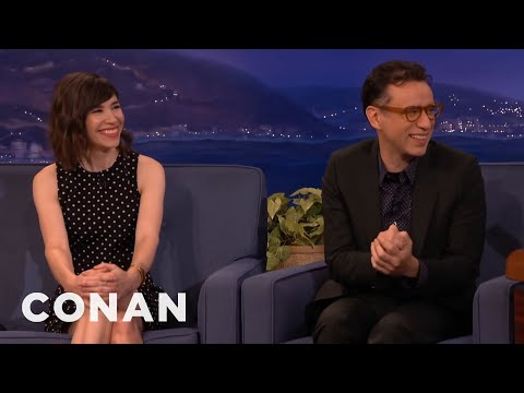 Fred Armisen & Carrie Brownstein Work Out Some Issues  - CONAN on TBS