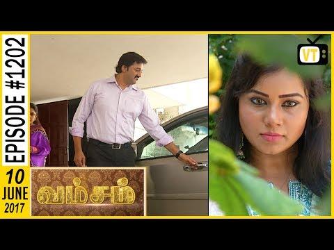 Vamsam - வம்சம் | Tamil Serial | Sun TV | Epi 1202 | 10/06/2017