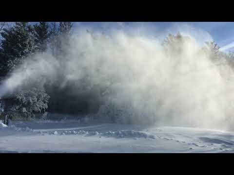 Tis the season Man Made Snow Lapham Peak Delafield Wi