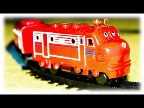 Video For Children TRAINS - Chuggington Toys Train Videos Episodes Chuggington Trains Чаггингтон