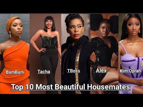 Top 10 Most Beautiful BBNaija Female Ex-Housemates • HD VIDEO