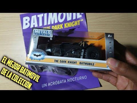 UNBOXING *BATIMOVIL  the Dark Knigh*/ LA NACIÓN FASCICULO 03