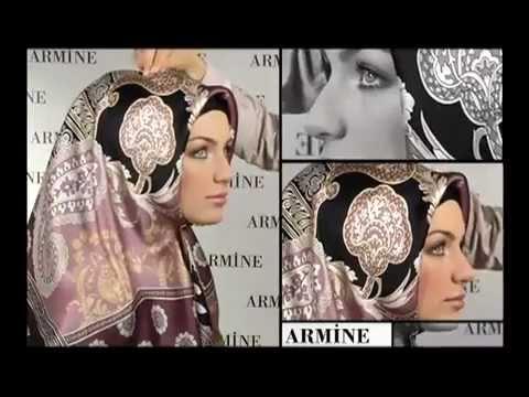 طريقة لف الحجاب التركي بالفديو