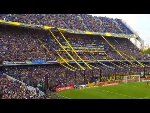 Boca 3 Rafaela 0 2016, Esta hinchada no te deja de alentar [4K] - La 12 - Boca Juniors - Argentina - América del Sur