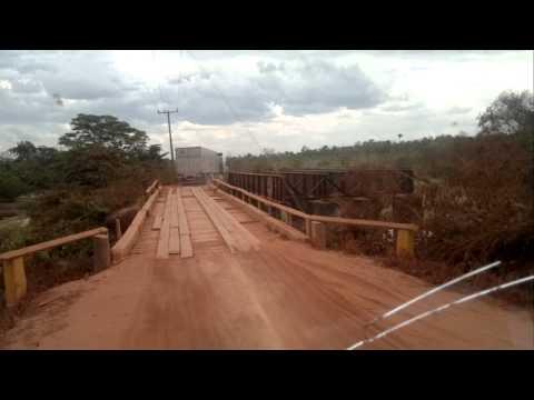 ponte na BR 158 Redenção Santana do Araguaia PA