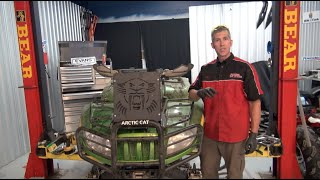 9. Arctic Cat Mud Pro Rad Relocate kit and Evans Coolant install - Wild Boar!
