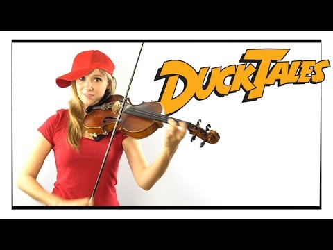 "Mark Mueller  ""Duck Tales Theme Song"" Cover by Anastasia Soina"