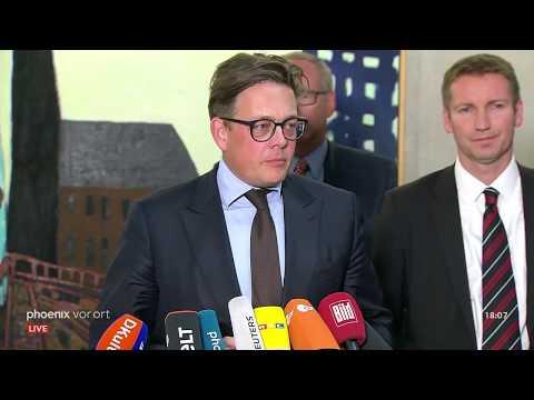 Statements nach der Befragung von Verfassungsschutz ...