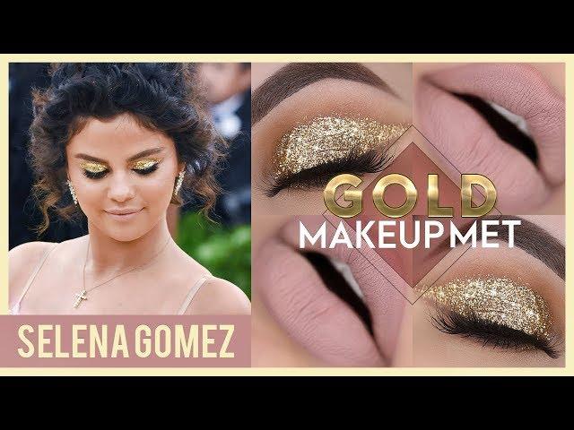 A MAQUIAGEM MAIS OURO QUE JÁ FIZ - Selena Gomez Makeup Tutorial - Pausa para Feminices