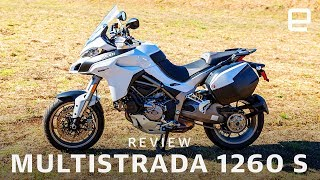9. Review:  Ducati's Multistrada brings smarts to two wheels