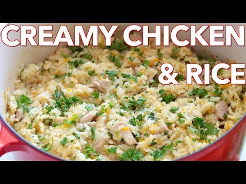 Dinner: Creamy Chicken And Rice (Plov) - Natasha's Kitchen