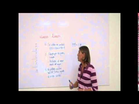 (Sancafilms) Matemáticas - Números romanos