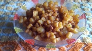 Potato fry or Urulai kizhangu varuval