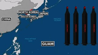 North Korea details Guam attack plan (Obama also release his attacks)