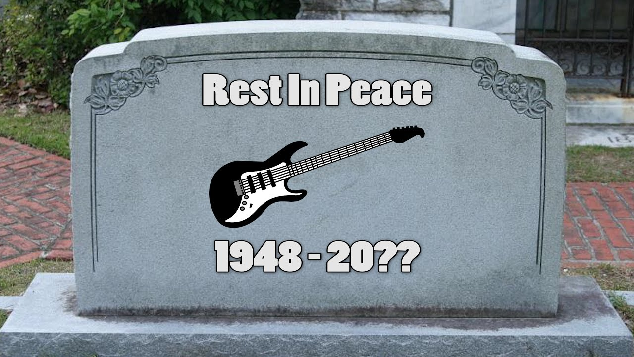 Are electric guitars dying a slow death?