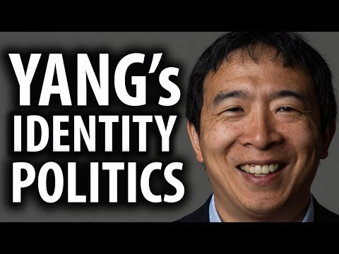 Andrew Yang Goes Full Identity Politics