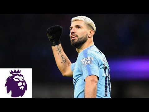 Video: Man City's Sergio Aguero finds hat trick against Arsenal | Premier League | NBC Sports