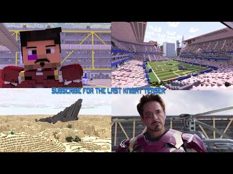 Video Minecraft Captain America Civil War Aiport battle Side by side comparation download in MP3, 3GP, MP4, WEBM, AVI, FLV January 2017