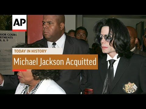 Michael Jackson Acquitted - 2005 | Today In History | 13 June 17