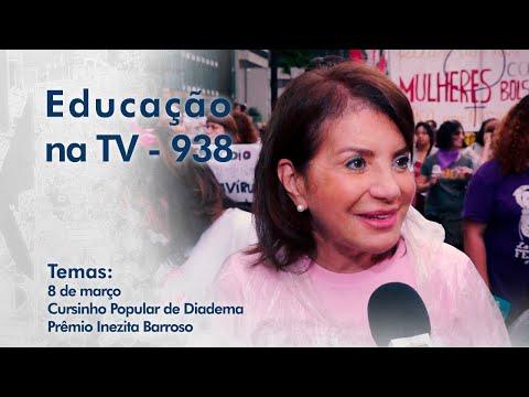 8 de março | Cursinho Popular de Diadema | Prêmio Inezita Barroso