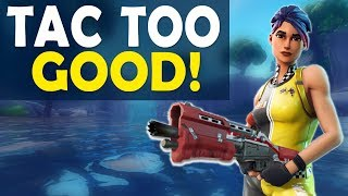 TACTICAL SHOTGUN IS TOO GOOD! | NEW WAVE? | HIGH KILL FUNNY GAME - (Fortnite Battle Royale)