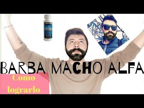 MINOXIDIL BARBA - Como crecer una barba de macho alfa