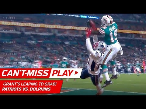 Xavien Howard's 2nd INT Leads to Jakeem Grant's Leaping TD Catch! | Can't-Miss Play | NFL Wk 14