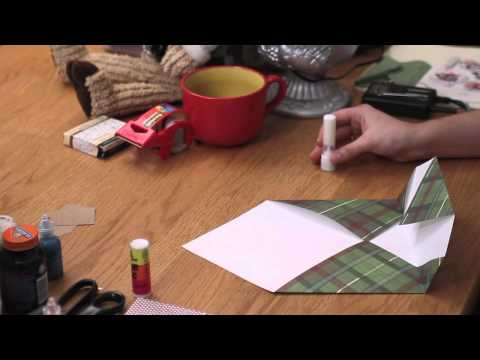 DIY Christmas Cards : How to Make Homemade Christmas Envelopes