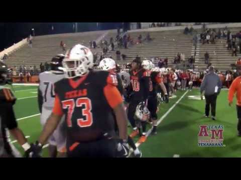 Game Highlights - West Mesquite Wranglers (TX) vs Texas High Tigers (TX) 2019