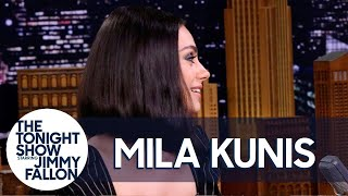 Video Mila Kunis Spent Her Honeymoon in an RV Park with Ashton Kutcher's Parents MP3, 3GP, MP4, WEBM, AVI, FLV September 2019