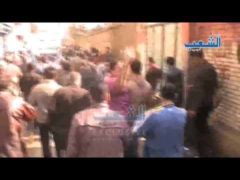 """الهتافات تتعالى بشوارع المطرية """"ثوار أحرار هانكمل المشوار"""""""