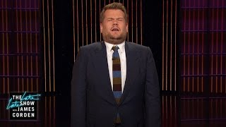 """After James recaps this week's Georgia congressional election, he comments on Queen Elizabeth's omission of President Donald Trump during a recent speech.More Late Late Show:Subscribe: http://bit.ly/CordenYouTubeWatch Full Episodes: http://bit.ly/1ENyPw4Facebook: http://on.fb.me/19PIHLCTwitter: http://bit.ly/1Iv0q6kInstagram: http://bit.ly/latelategramWatch The Late Late Show with James Corden weeknights at 12:35 AM ET/11:35 PM CT. Only on CBS.Get new episodes of shows you love across devices the next day, stream live TV, and watch full seasons of CBS fan favorites anytime, anywhere with CBS All Access. Try it free! http://bit.ly/1OQA29B---Each week night, THE LATE LATE SHOW with JAMES CORDEN throws the ultimate late night after party with a mix of celebrity guests, edgy musical acts, games and sketches. Corden differentiates his show by offering viewers a peek behind-the-scenes into the green room, bringing all of his guests out at once and lending his musical and acting talents to various sketches. Additionally, bandleader Reggie Watts and the house band provide original, improvised music throughout the show. Since Corden took the reigns as host in March 2015, he has quickly become known for generating buzzworthy viral videos, such as Carpool Karaoke."""""""