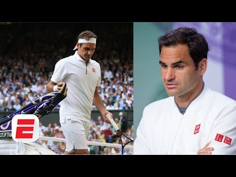Roger Federer Laments Missed Match Points Vs. Novak Djokovic | 2019 Wimbledon Press Conference