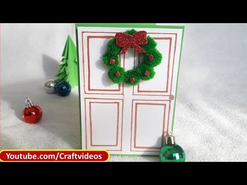 Easy Christmas Card Making Ideas for Kids