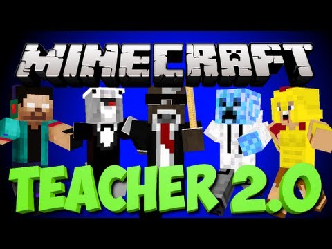 teacher - Can we get 350 likes for Minecraft Teacher 2.0 Minigame? Join The RUSHERS by Subscribing ➜ http://bit.ly/RusherRepublic Follow me on Twitter ➜ https://twitte...
