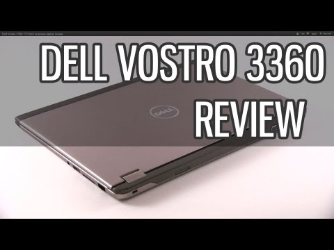 Dell Vostro 3360 13.3 inch business laptop review