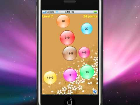 Video of PopMath Lite