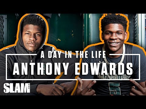 Anthony Edwards Will NOT be Stopped: 'NOTHING BUT DUNKS' 💪🏽   SLAM Day in the Life