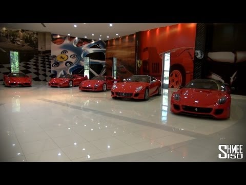 sbh royal auto gallery abu dhabi supercar collection video