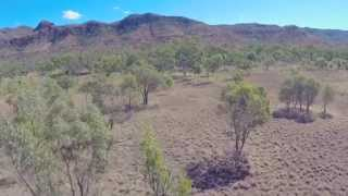 Springsure Australia  city photo : Australia Outback - DJI f550 Multicopter Drone Aerial Video Footage GoPro