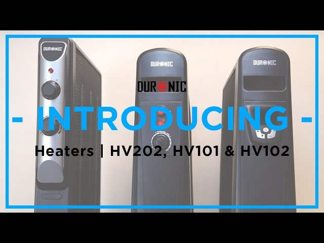 Duronic Mica Heater Range | HV220, HV101 & HV102
