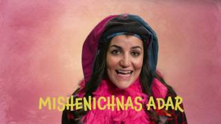 Mishenichnas Adar – Learn the words to the Purim song